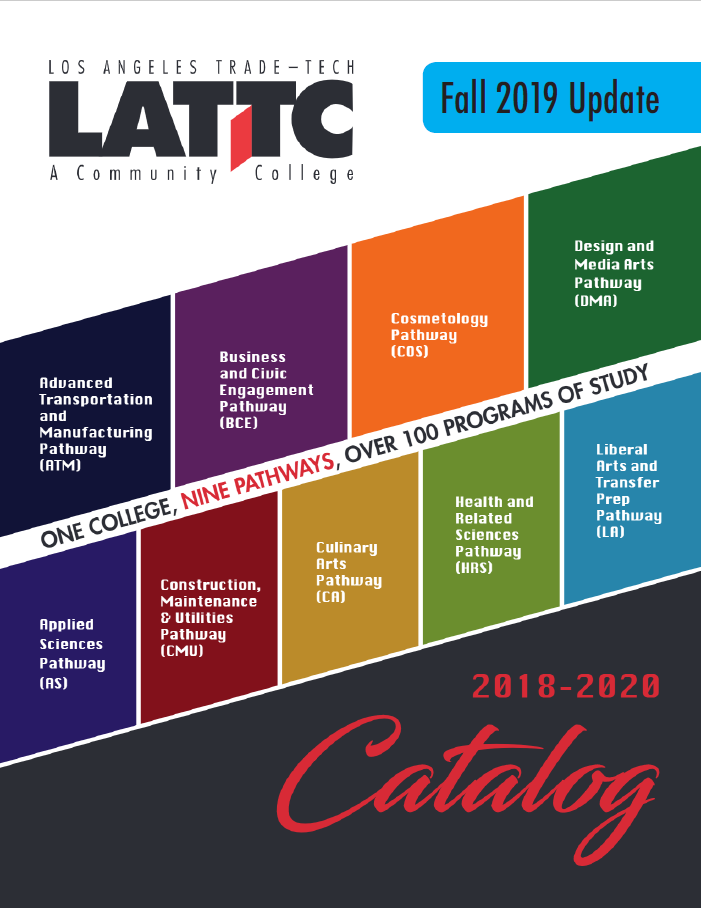 Csula Final Exam Schedule Fall 2020.Lattc College Catalog